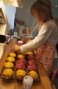 Fairy cakes (c) Lucy Robinson 2012